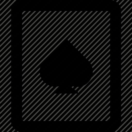 card, card game, playing card, single card, single icon icon