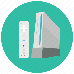 console, controller, gaming, leisure, remote, wii icon