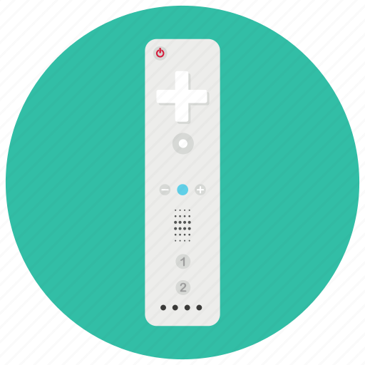controller, electronic, gaming, remote, technology, wii icon