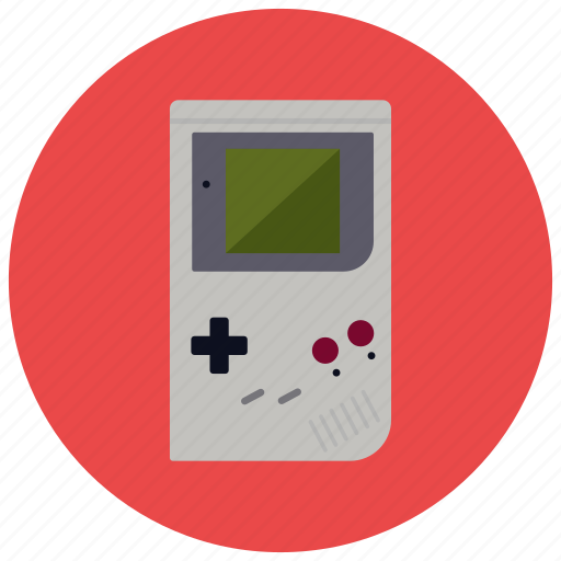 color, entertainment, gameboy, gaming, leisure, retro, vintage icon