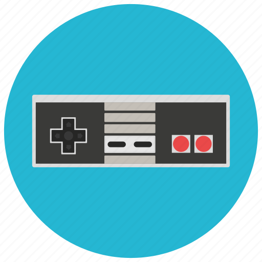 controls, entertainment, gaming, leisure, nintendo, retro, vintage icon