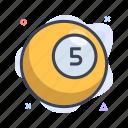ball, billiard, games icon