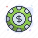 casino, chip, gambling