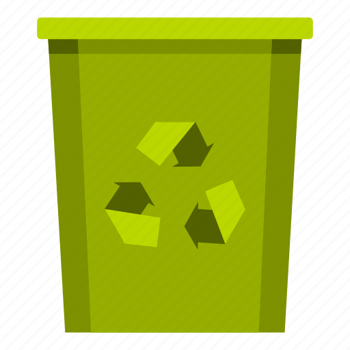 bin, container, garbage, outdoor, recycling, trash, waste icon