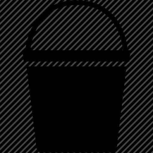 equipment, farm, garden, gardening, shovel, water bucket icon