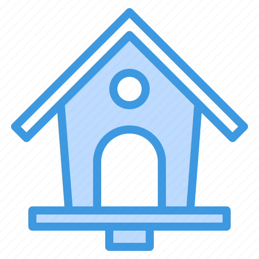 bird, equipment, garden, house, plant, tool icon