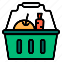 basket, equipment, garden, plant, tool icon