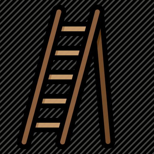 equipment, garden, ladder, plant, tool icon