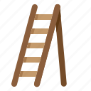equipment, garden, ladder, plant, tool icon
