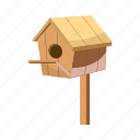 architecture, birdhouse, blog, cartoon, construction, nature, roof icon