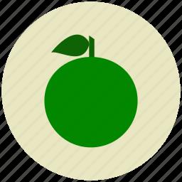 citrus, food, fruit, healthy, lemon, orange, vitamin c icon