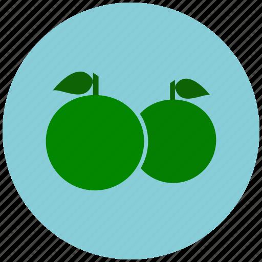 citrus, fruits, healthy, lemon, orange, vitamin c icon