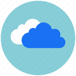 cloud, clouds, cloudy, rain, sky, weather icon