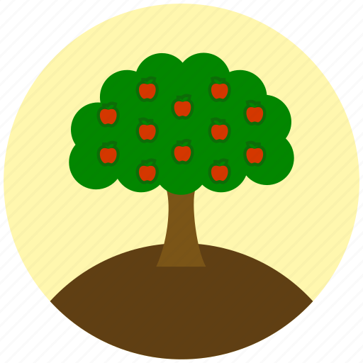 apple, fruit, garden, gardening, plant, tree icon