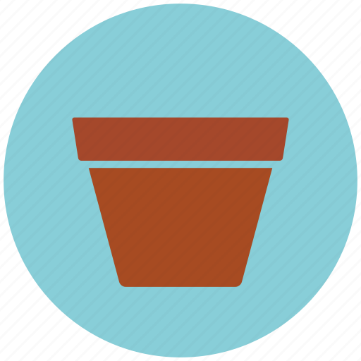 garden, gardening, pot icon