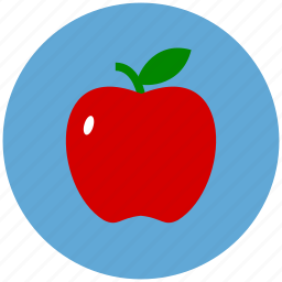 apple, food, fruit, healthcare, healthy icon