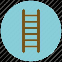 home repair, ladder, repair tool, tool icon