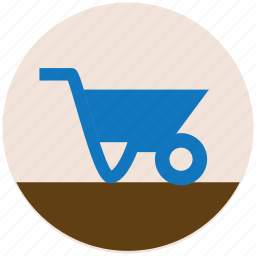 cart, construction, trolley icon