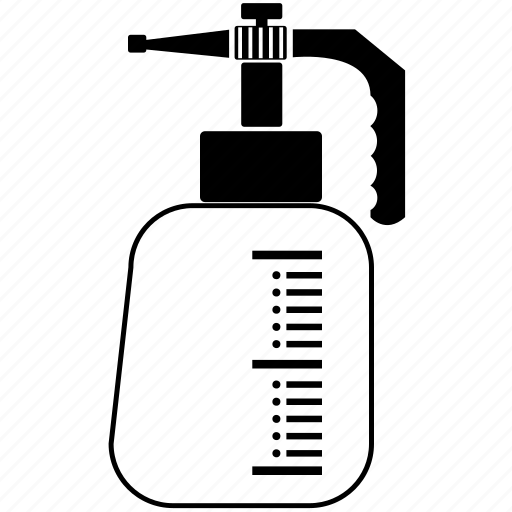 bottle, bottles, bottom, garden, orchard, spray, syringe icon