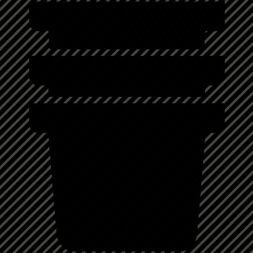 garden, leaf, pitcher, plant, pot, tree, vessel icon