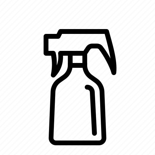 cleaner, cleaning, spray icon