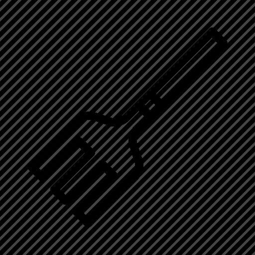 fork, garden, pitch icon