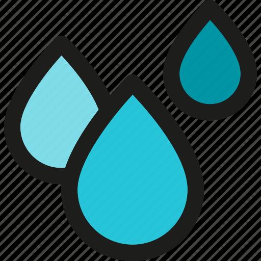 drink, drop, liquid, rain, raindrop, water icon