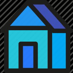 garden, glass, home, house, plant, warehouse icon