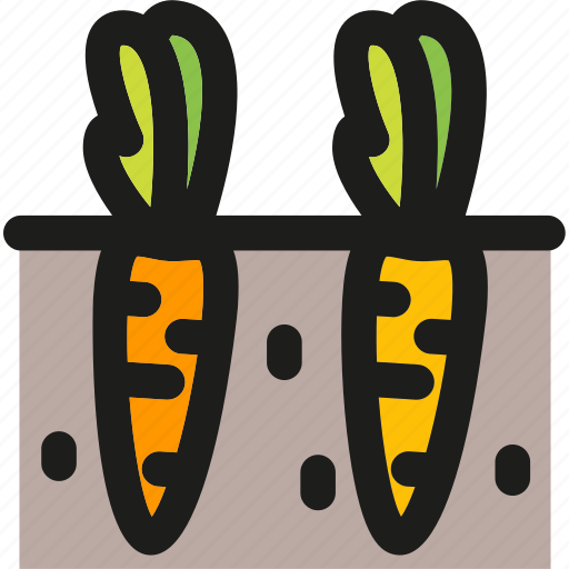 carrots, cooking, food, gastronomy, healthy, restaurant, vegetables icon