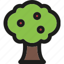 ecology, forest, gardening, green, nature, plant, tree icon