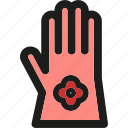garden, gardening, glove, gloves, leaf, nature, plant icon