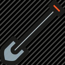 architecture, building, construction, equipment, gardening, repair, shovel icon