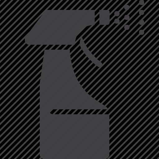 bottle, plastic, spray, water icon