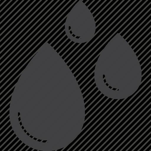 aqua, drops, rain, water icon