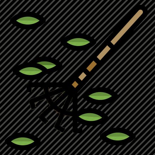 fork, gardenning, rake, tool, utensils icon