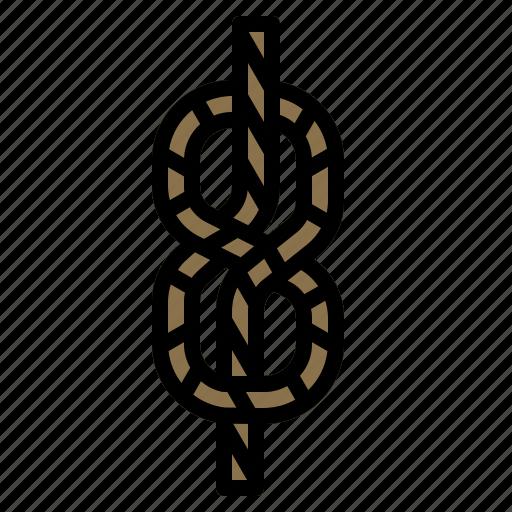 fiber, gardening, nautic, rope, string icon