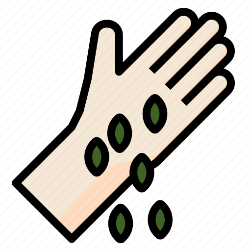 farming, gardening, groeingseed, seed, sprout icon