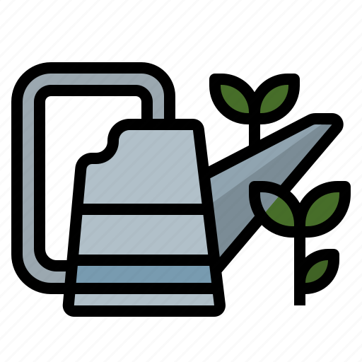fill, tool, utensil, waterbucket, wateringcan icon