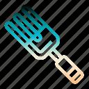 fork, gardening, handfork, rake, yard icon