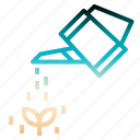 can, drop, farming, gardening, watering icon