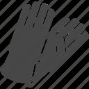 gardening, gloves icon