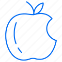 apple, food, fruit, meal icon