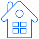 building, gardening, home, house icon
