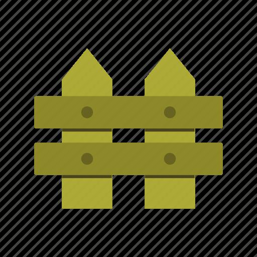 Fence, garden, gardening, wood icon - Download on Iconfinder