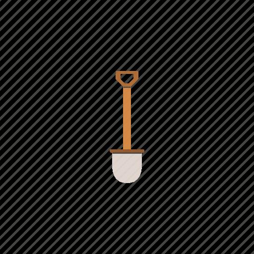 garden, nature, shovel, tool, work icon
