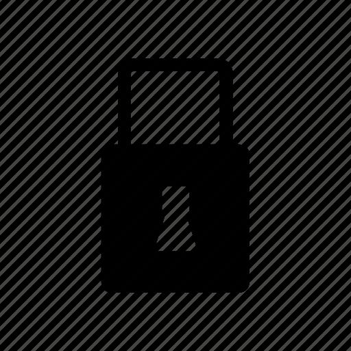 padlock, password, safe, secure, web icon