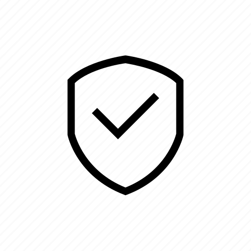 check, secure, shield, tehcnology, web icon