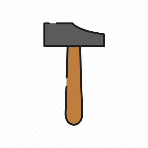 architecture, construction, equipment, hammer, repair, tool, work icon