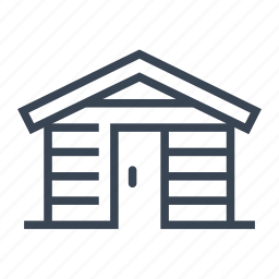 garden, shed, sheds, tool icon