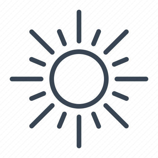 hot, summer, sun, sunny icon